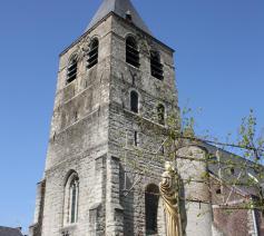 De Sint-Martinuskerk in  Moorsel