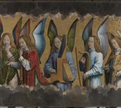 Hans Memlings musicerende engelen komen tot leven in Antwerpen © AMUZ