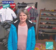 Linda Naessens  van 'Mama's voor kinderen'