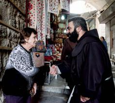 Via Dolorosa © Nadim Asfour/Custodie van het Heilige Land