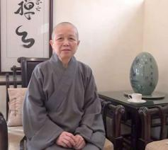 De boeddhistische zuster Shih Chao-hwei uit Taiwan  © Niwano Peace Foundation