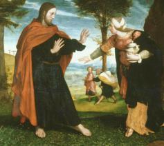 Noli me tangere, Hans Holbein de Jongere (1524). © WikiCommons