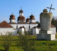 De schilderachtige kerk van de Oekraïens-orthodoxe parochie van Genk. © Wikipedia