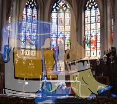 Schilderwerken Dekenale Kerk Zottegem © DiGo