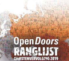 De  'Ranglijst Christenvervolging' van Open Doors © Open Doors