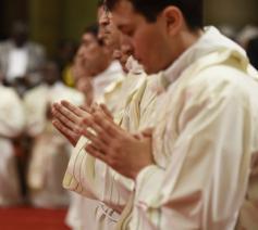 Wijding van de priesters in de basiliek van San Eugenio © Opus Dei