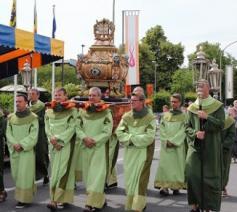 De relikwie van Sint-Paulus werd in 1742, 275 jaar geleden, aan de parochie van Opwijk geschonken  © Sint-Pauluscomité
