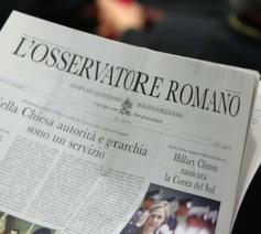 L'Osservatore Romano © dpa/Radio Vaticana