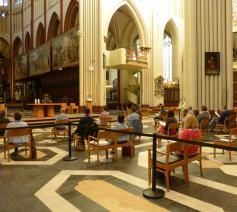 Het zendingsmoment in de kathedraal