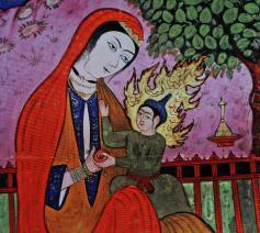 Maria volgens de traditie van de islam © Philippe Keulemans/Museum Catharijneconvent