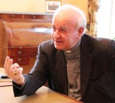 Vicenzo Paglia, voorzitter van de Pauselijke academie voor het Leven © Infocatho.be