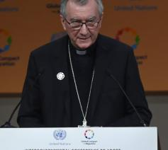Staatssecretaris Pietro Parolin © Vaticaan Media