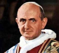 Paus Paulus VI © rr