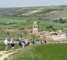 De pelgrimswandeling loopt langs de Via Limburgica, de Limburgse Compostela-route. © werkgroep Pelgrimspastoraal