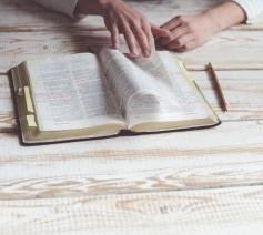 'Mijn spirituele beoefening: ik onderstreep boeken'  © Foto Kiwihug op Unsplash