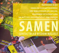 Abonneer je nu op Samen-contactblad bisdom Hasselt © bisdom Hasselt