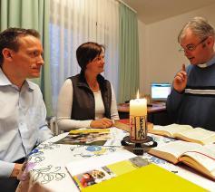 Gedegen huwelijksvoorbereiding is vooral in Vlaanderen een aandachtspunt. © KNA-Bild