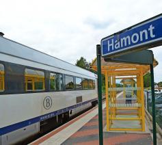 Station Hamont, een voorlopige terminus?  © Erik De Smet