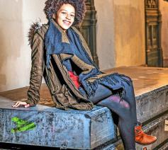 """Mariame Keita: """"Het is gezellig in Leuven en ik had er kunnen blijven wonen, maar ik moet zien wat er nog bestaat."""" © © Bart Dewaele"""