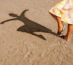 Al is het slechts een schim die rest, we kunnen ons maar moeilijk inbeelden dat we na de dood volledig verdwijnen. © © Image Select
