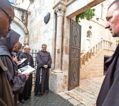 Direct gevolg van de ontmoeting was dat minderbroeders van de moslims in Jeruzalem mochten wonen. © © KNA Bild