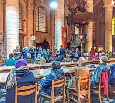 De Begijnhofkerk opent de deuren voor multiculturele kunstprojecten. © House of Compassion