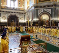 Heilige Liturgie in Moskou © ROC/Patriarchaat van Moskou