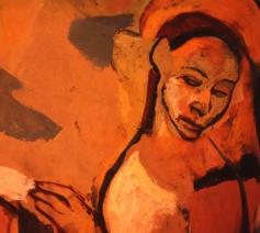 Oratory Mural: Annunciation © 1966 Richard Rappaport