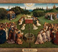 Het 'Lam Gods' van Van Eyck. © Lukas - Art in Flanders vzw