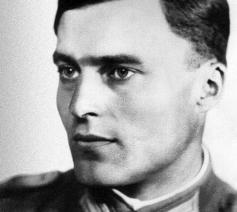 Claus von Stauffenberg © Wikipedia