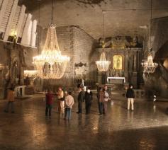 De zoutmijn van Wieliczka is meer dan 700 jaar oud. © www.wieliczka-saltmine.com