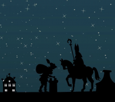 'En zo kan Sinterklaas ook de patroon worden van de mensen die op hun oude dag wegglijden in de vergetelheid.' © Pixabay