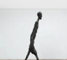 'Walking Man II' van Alberto Giacometti © Website Kröller-Müller / rr