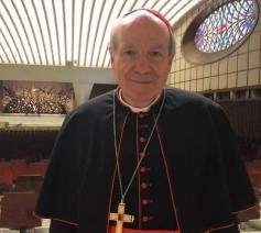Kardinaal Schönborn, de aartsbisschop van Wenen © Vatican Media