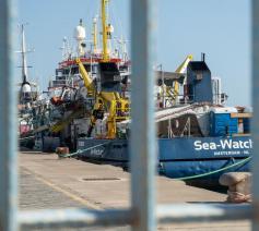 Sea Watch 3 in Palermo © EKD