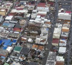De ravage op Sint-Maarten is enorm © ANP Handouts/Ministerie Van Defensie/Gerben Van Es