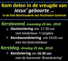 Kerstvieringen 2018 Houthalen-Centrum klein