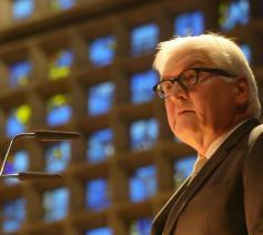 Frank-Walter Steinmeier, de Duitse bondspresident © KNA