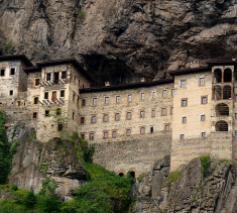 Het klooster van Sümela © Wikipedia