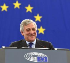 De Italiaanse EP-voorzitter Antonio Tajani  © Persdienst EP