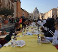 De 'Tavola Romana' © Vatican Media