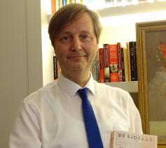 Jan Maes: 'Als historicus zal ik onderzoek doen naar al die joodse slachtoffers in België. Als godsdienstleerkracht zal ik kijken hoe we kunnen voorkomen dat het ooit opnieuw gebeurt.' © JM