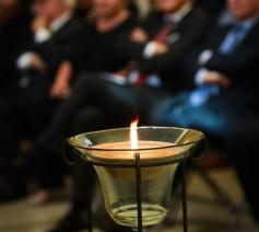 Elk jaar herdenkt het Forum der Joodse Organisaties (FJO) in Antwerpen op Bevrijdingsdag - 8 mei dus - de slachtoffers van de Shoah © Guy Kleinblatt