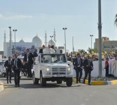 Paus Franciscus in Abu Dhabi © Vatican Media