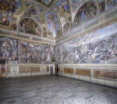 De Constantinozaal van de Vaticaanse Musea © Vaticaanse Musea