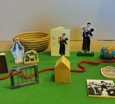 Vertelmateriaal van het verhaal van Don Bosco © Annemie Tuts