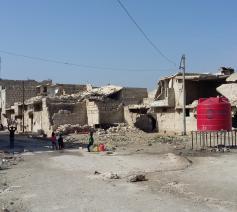 Verwoestingen in Oost-Aleppo © Bisdom Antwerpen