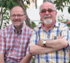 Vier pastoors-moderatoren maken een tussentijdse balans. © Bisdom Gent, Ellen Eeckhout