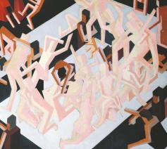 'Het visioen van Ezechiël' van David Bomberg © Tate Gallery/RR