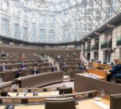 Het Vlaamse Parlement © Vlaams Parlement